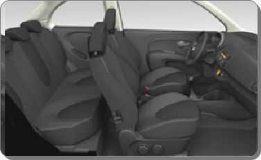 Interni Nissan Micra Jive e Acenta.